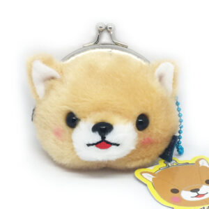 Plush Dog Coin Purse by Amuse