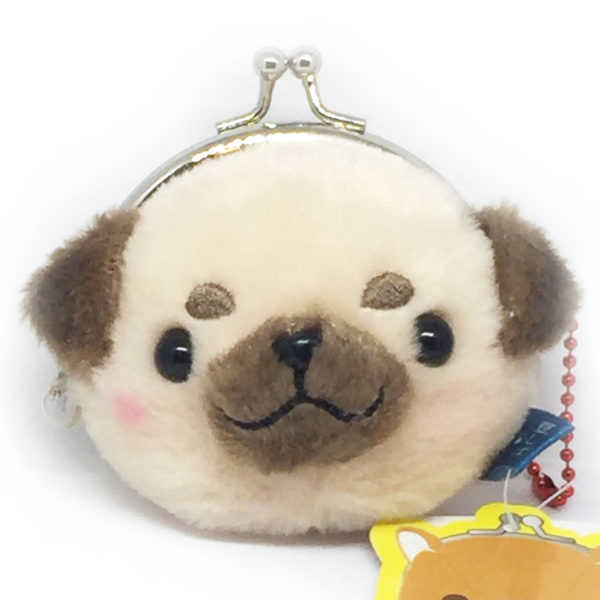 Cute Plush Dog Coin Purse by Amuse