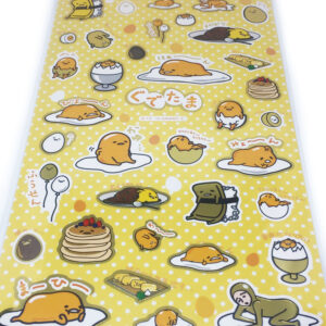 Gudetama Stickers by Sanrio