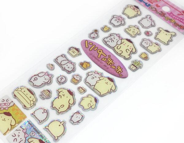 PomPomPurin Stickers by Sanrio