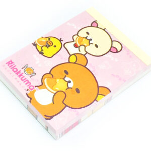 Rilakkuma Bear Memo Pad by San-X