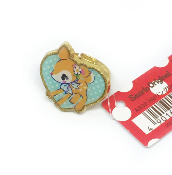 Hummingmint Heart Ring by Sanrio