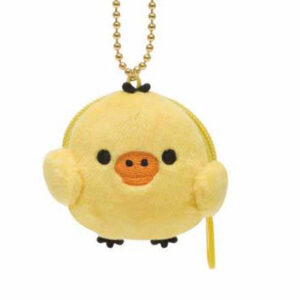 Kiiroitori chick small plush bag charm with pouch