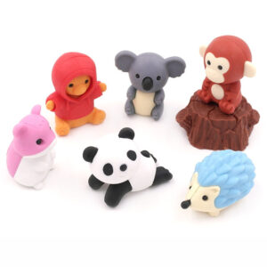 Iwako Animals in Forest - Kawaii Unicorn