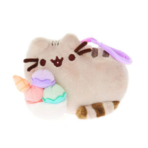 Pusheen with ice cream sundae