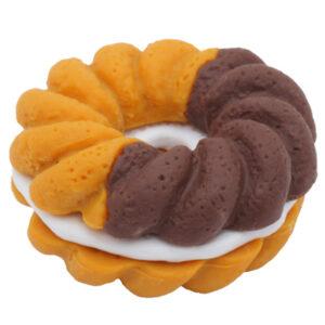 Brown Doughnut Iwako Eraser