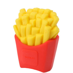 French Fries IWAKO Eraser