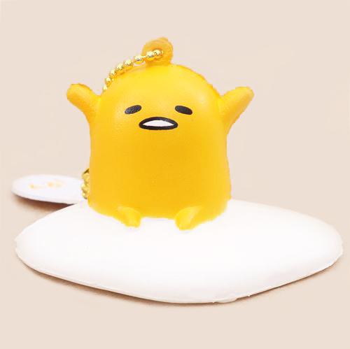 gudetama sanrio squishy charm sold by kawaii unicorn