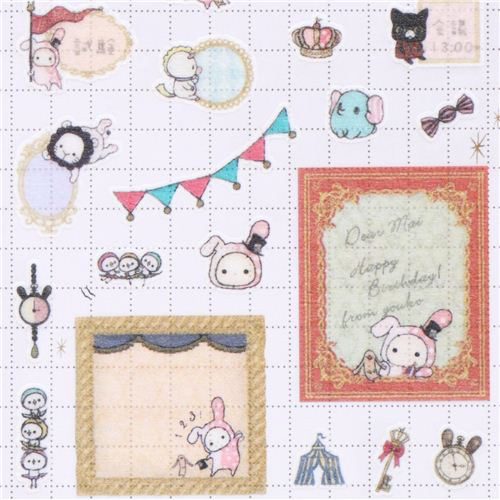 Sentimental Circus Stickers by San-X