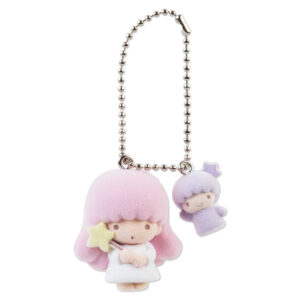 Little Twin Stars Lala Ball Chain Mascot Keychain from Sanrio Japan