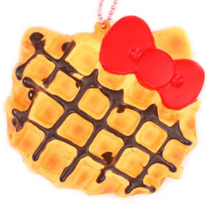 Hello Kitty Squishy Waffle Charm by Sanrio Japan